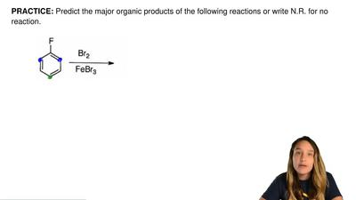 Predict the major organic products of the following reactions or write N.R. fo...