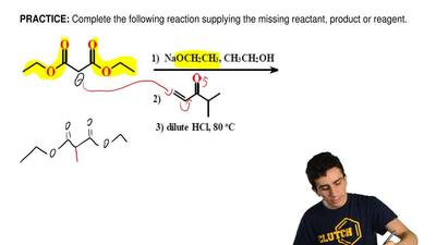 Complete the following reaction supplying the missing reactant, productor rea...