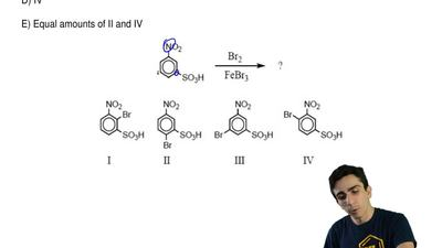 What would you expect to be the major product obtained from the following reac...