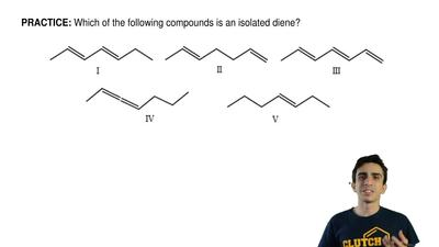 Which of the following compounds is an isolated diene? ...