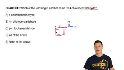 Which of the following is another name for 4-chlorobenzaldehyde?  A) o-chlorob...