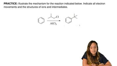Illustrate the mechanism for the reaction indicated below. Indicate all electr...