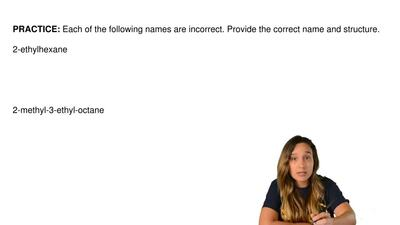 Each of the following names are incorrect. Provide the correct name and struct...