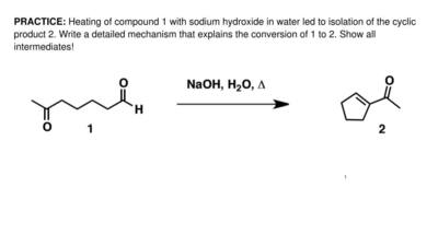 Heating of compound 1 with sodium hydroxide in water led to isolation of the c...