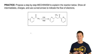 Propose a step-by-step MECHANISM to explainn the reactionbelow. Show all inte...