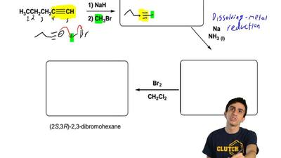 Provide the products for each of the following synthesis. Your products must s...