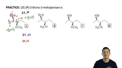 (2S,3R)-2-Bromo-3-methylpentane is ...