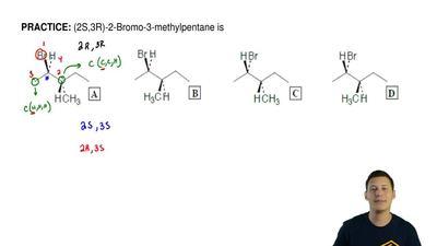 (2S,3R)-2-Bromo-3-methylpentane is ...