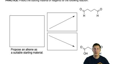 Predict the starting material or reagents for the following reaction. ...