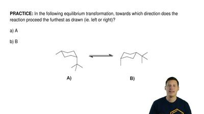 In the following equilibrium transformation, towards which direction does the ...
