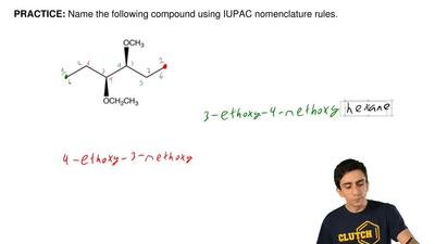 Name the following compoundusing IUPAC nomenclature rules. ...