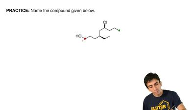 Name the compound given below. ...