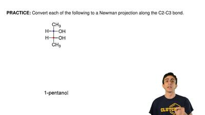 Convert each of the following to a Newman projection along the C2-C3 bond. ...