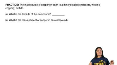 The main source of copper on earth is a mineral called chalcocite, which is co...