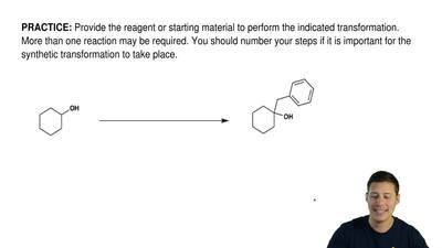Provide the reagent or starting material to perform the indicated transformati...