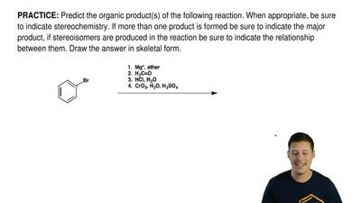 Predict the organic product(s) of the following reaction. When appropriate, be...