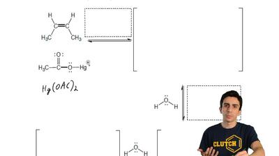 Complete the mechanism for the following reaction. Draw all the arrows to indi...