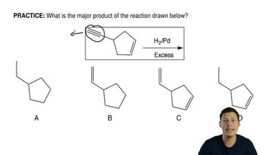 What is the major product of the reaction drawn below? ...
