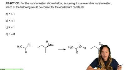 For the transformation shown below, assuming it is a reversible transformation...