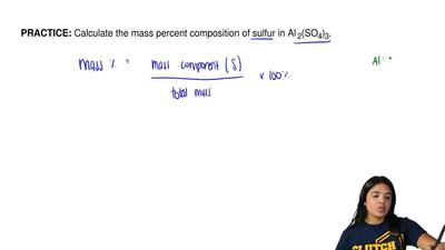 Calculate the mass percent composition of sulfur in Al  2(SO4)3. ...