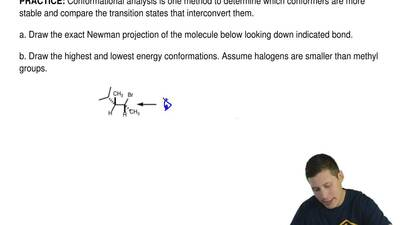 Conformational analysis is one method to determine which conformers are more s...