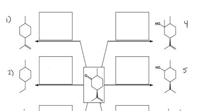 Provide the conditions that would convert the compound shown in the center of ...