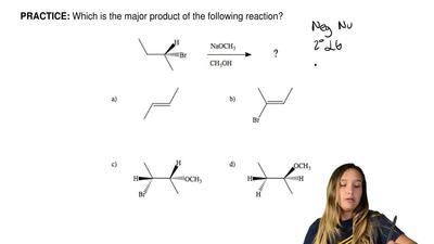 Which is the major product of the following reaction? ...