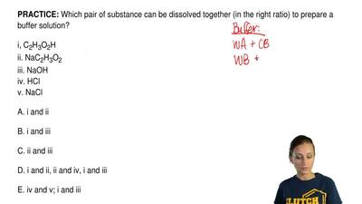 Which pair of substance can be dissolved together (in the right ratio) to prep...
