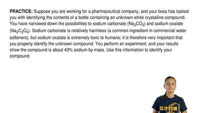 Suppose you are working for a pharmaceutical company, and your boss has tasked...