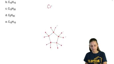 The molecular formula for the condensed structural formula of the hydrocarbon ...