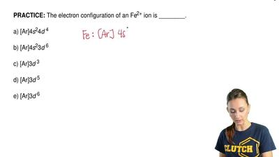how to write electron configuration for compounds