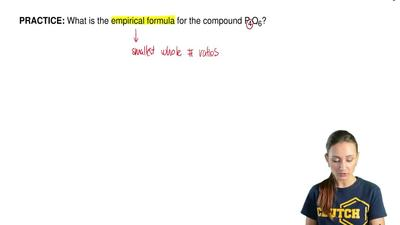 What is the empirical formula for the compound P4O6? ...