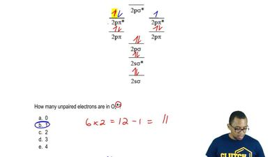 Use themolecular orbital energy diagram belowfor the next three questions.  ...