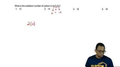 What is the oxidation number in H 2C2O4?  a) +3  b) +4  c) +6  d) +8 ...