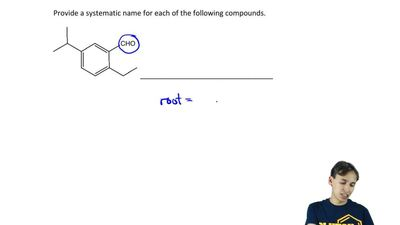 Provide a systematic name for the following compound.    ...