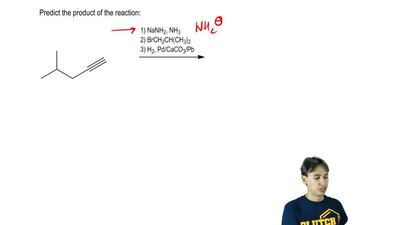 Predictthe product of the reaction:   ...