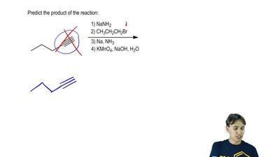 Determine the mechanism and predict the product of the reaction: ...