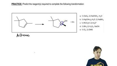 Predict the reagent(s) required to complete the following transformation:    ...
