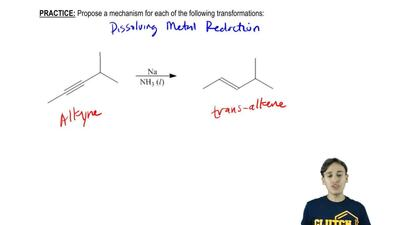 Propose a mechanism for the following transformation:    ...