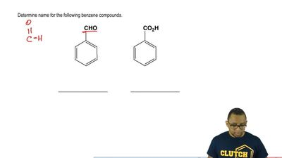 Determine the name for the following benzene compounds.    ...