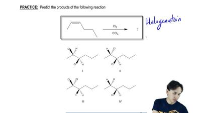 Predict the following products of the following reaction:    ...