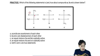 Which of the following statements is (are) true about compounds a, b and c dra...