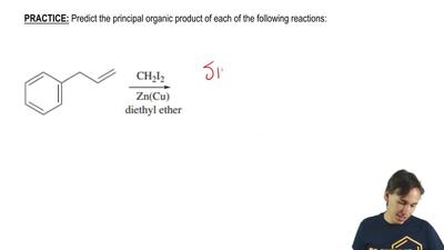 Predict the principal organic product of each of the following reactions:  ...