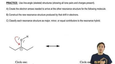 Use line-angle (skeletal) structures (showing all lone pairs and charges prese...