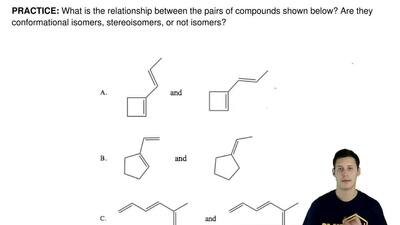 What is the relationship between the pairs of compounds shown below? Are they ...