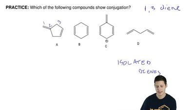Which of the following compounds show conjugation? ...