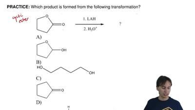 Which product is formed from the following transformation? ...