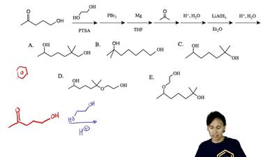 What is the final principal product of the following synthesis? ...