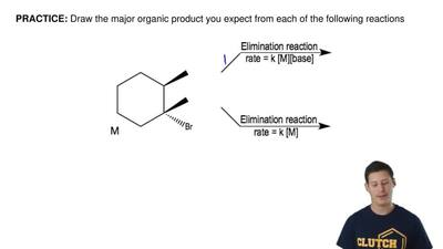 Draw the major organic product you expect from each of the following reactions...
