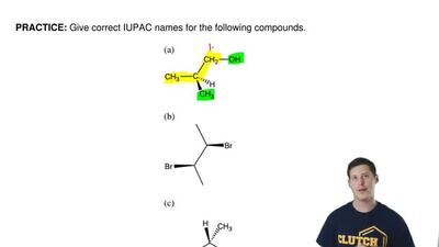 Give correct IUPAC names for the following compounds. ...